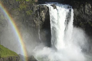 snowqualmie falls and winery tour